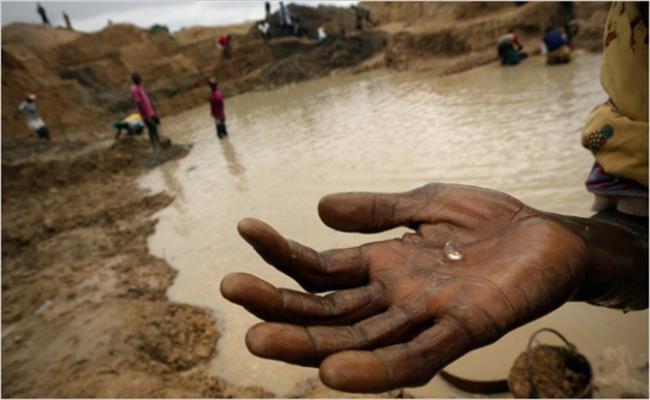 Loại khoáng sản này hầu như được tìm thấy khá dễ dàng tại các khu vực khác nhau ở châu Phi. Chúng chiếm đến gần một nửa lượng kim cương khai thác toàn cầu.
