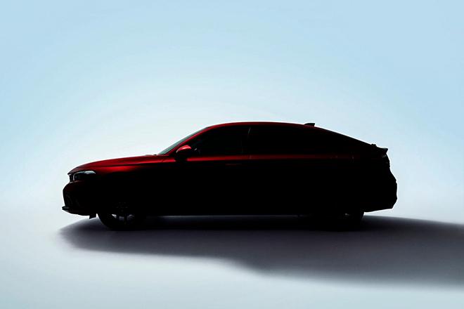 Civic bản Hatchback thế hệ mới được Honda nhá hình ảnh đầu tiên - 3