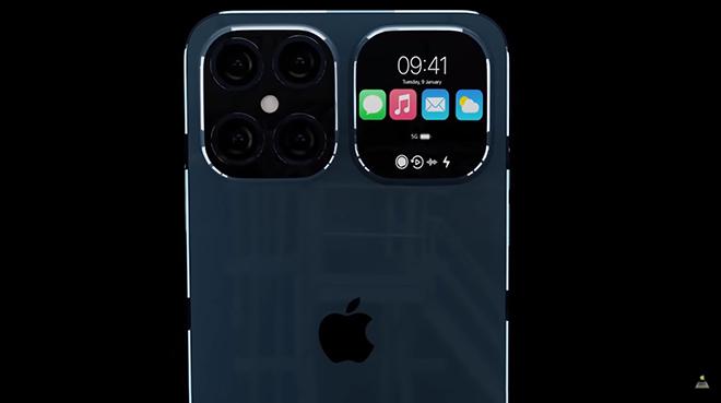 Fan lóa mắt với hình dung iPhone 13 Flip đẹp mê ly - 1
