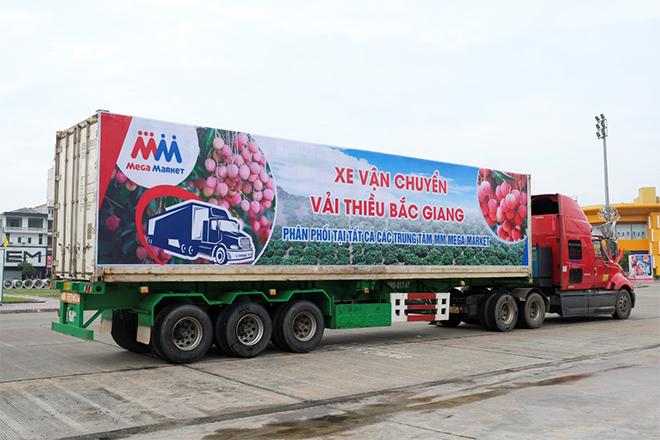 Mua Vải thiều Bắc Giang với giá bán không lợi nhuận tại MM Mega Market - 1