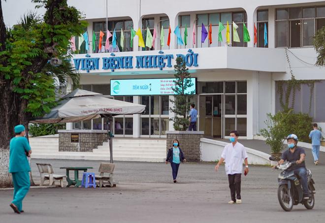 Nóng: TP.HCM tạm phong toả Bệnh viện Bệnh nhiệt đới - 1
