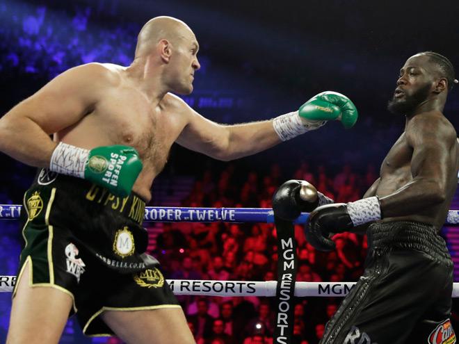 Nóng nhất thể thao tối 12/6: Tyson Fury chỉ trích Deontay Wilder - 1