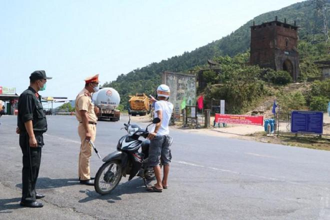 Thông báo mới của Thừa Thiên - Huế về kiểm soát người về từ vùng dịch - 1