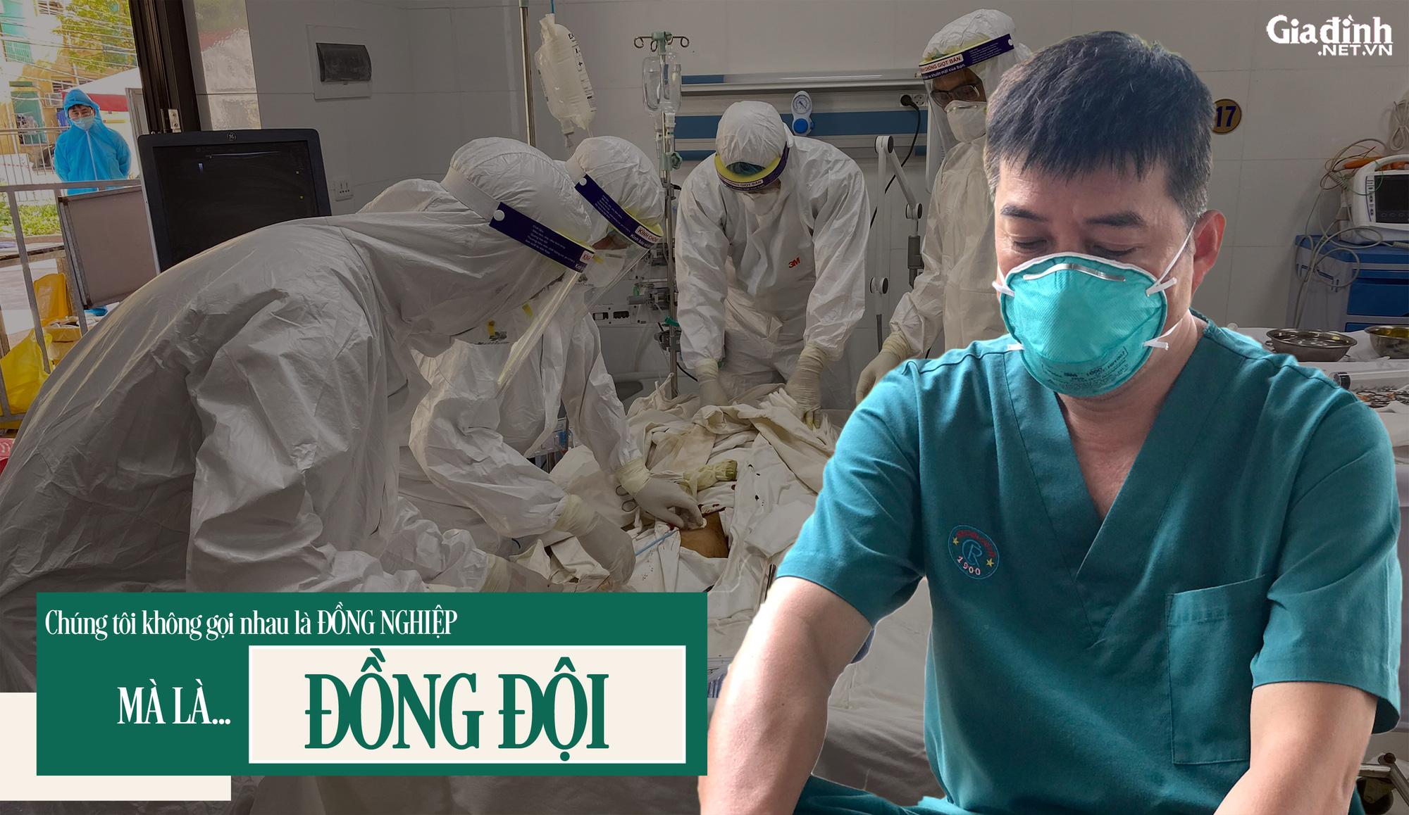 """BSCKII Trần Thanh Linh:""""Những ngày tháng này chúng tôi không gọi nhau là đồng nghiệp mà là đồng đội"""" - 1"""
