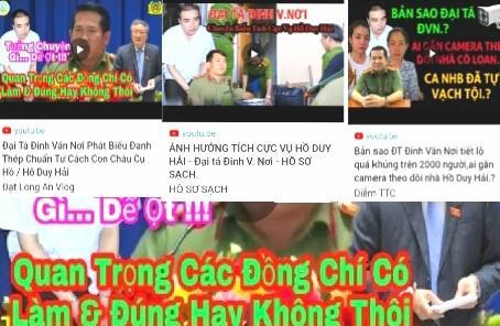 Bị ghép giọng can thiệp vụ án Hồ Duy Hải, đại tá Đinh Văn Nơi nói gì ? - 1