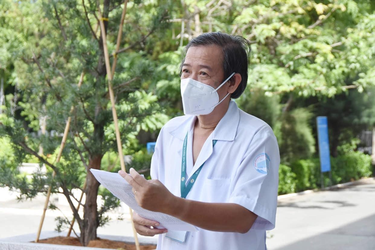 52/53 nhân viên của BV Bệnh Nhiệt đới TP.HCM nhiễm COVID-19 không có triệu chứng - 1