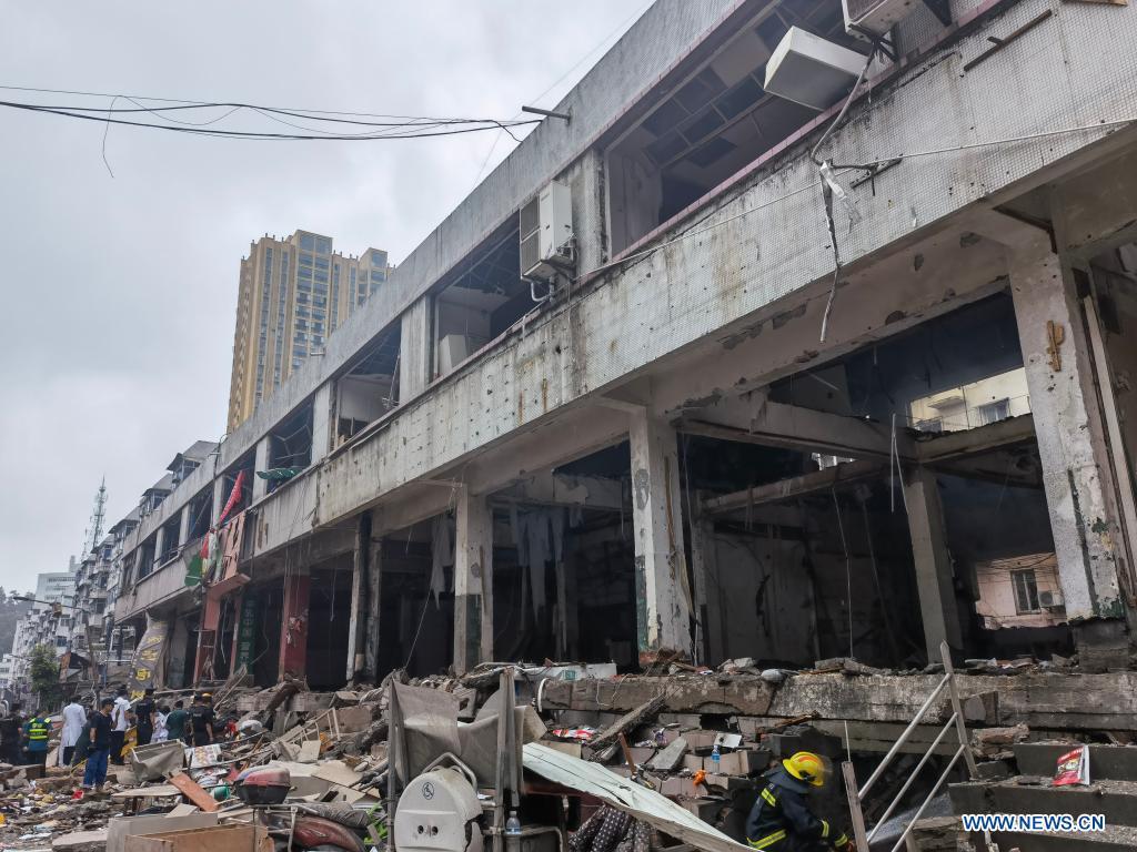 """Nổ """"như động đất"""" ở TQ khiến 150 người thương vong - 1"""