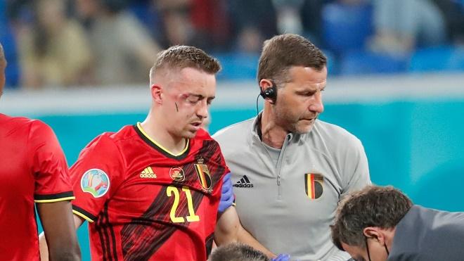 SAO ĐT Bỉ chấn thương kinh hoàng, chính thức chia tay EURO 2020 - 1