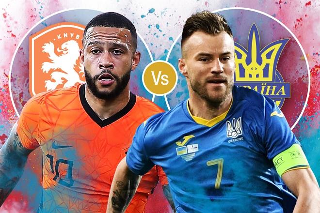 """Nhận định trận hot EURO, Hà Lan - Ukraine: """"Cơn lốc da cam"""" gặp """"thú dữ"""" - 1"""