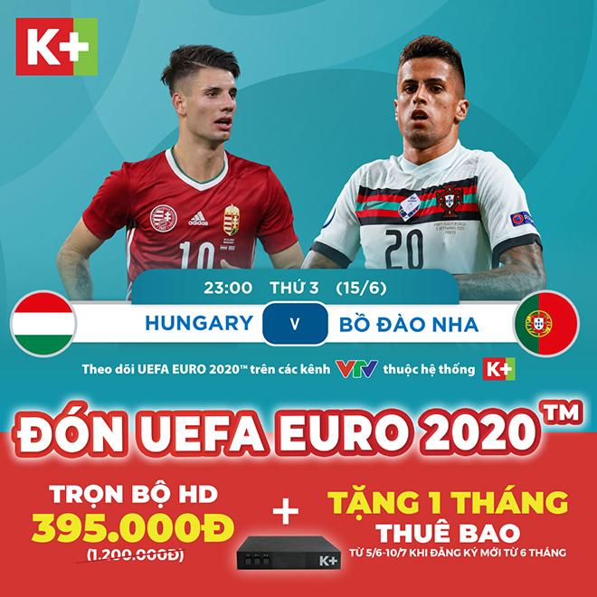 Mùa giải UEFA Euro 2020™ thú vị hơn bao giờ hết cùng K+ - 1