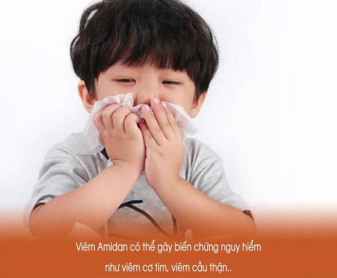 Những biến chứng nguy hiểm khi trẻ bị viêm amidan mẹ chớ coi thường - 1