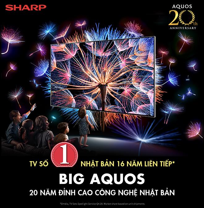 Sharp 20 năm hành trình thương hiệu TV số 1 Nhật Bản - 1