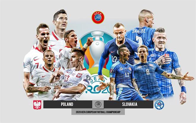 """Soi trận hot EURO: """"Giày vàng"""" Lewandowski xuất trận, Ba Lan mơ làm """"ngựa ô"""" - 1"""