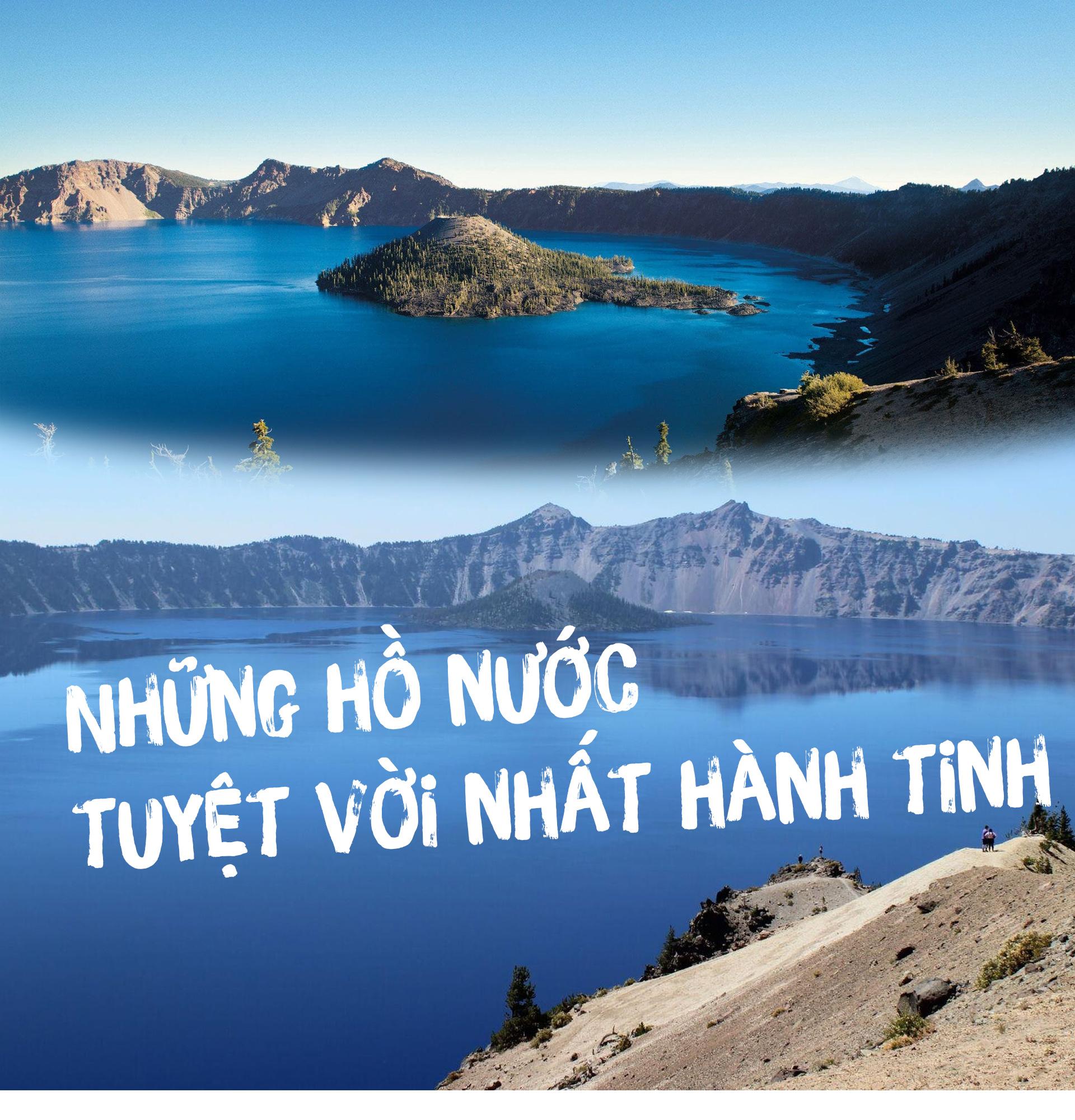 Những hồ nước tuyệt vời nhất hành tinh - 1