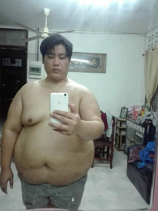 Chàng trai gây bão mạng vì giảm một lèo 81kg rồi lột xác thành hotboy - 1