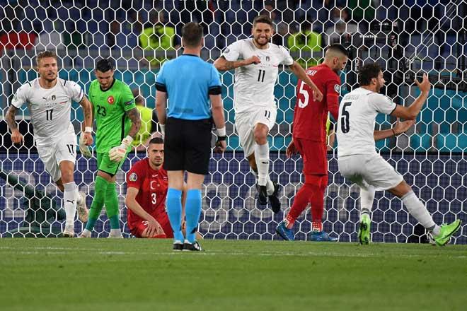 Cực nóng bảng xếp hạng EURO 2020: Italia - Bỉ thăng hoa, Anh - TBN hụt ngôi đầu - 1
