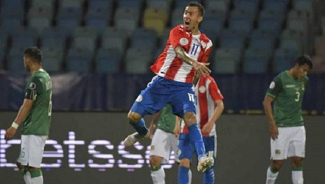 Video Paraguay - Bolivia: Bước ngoặt thẻ đỏ, ngược dòng vượt Argentina (Copa America) - 1