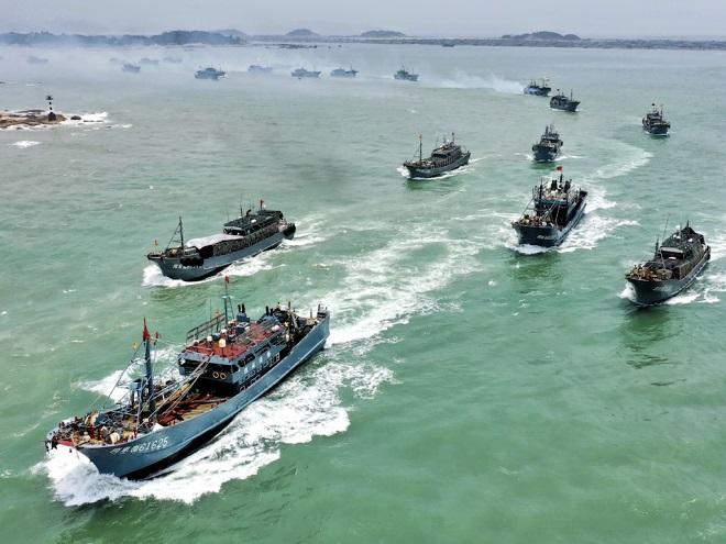 Đội tàu cá Trung Quốc bị tố hủy hoại ngư trường màu mỡ nhất thế giới - 1
