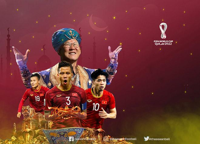 """""""Thần đèn"""" Park Hang Seo giúp ĐT Việt Nam vào vòng loại 3 World Cup 2022 - 1"""