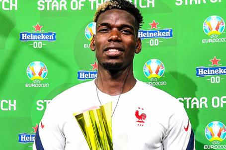 Pogba lại tỏa sáng cho ĐT Pháp ở EURO, chuyên gia chất vấn phong độ ở MU