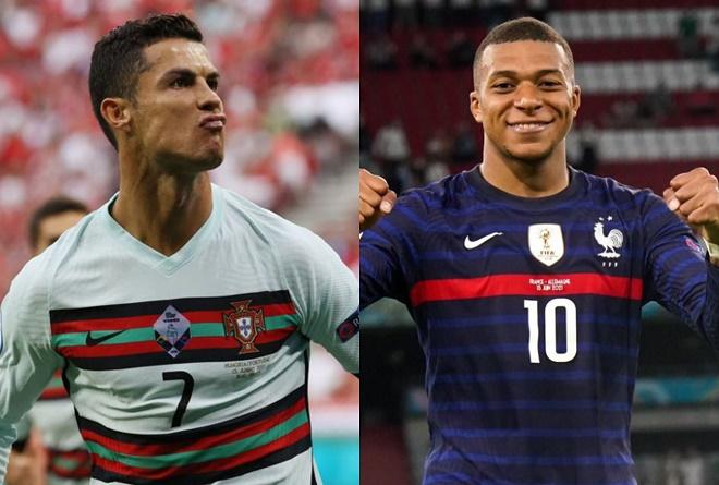 """Nóng bảng xếp hạng EURO: Pháp hạ Đức vẫn xếp dưới Bồ Đào Nha ở """"bảng tử thần"""" - 1"""