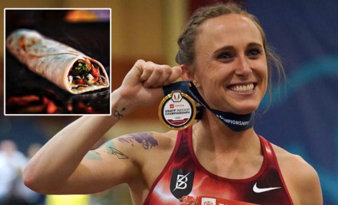 Nhà vô địch điền kinh Mỹ ăn miếng thịt lợn bị cấm thi đấu tới 4 năm - 1