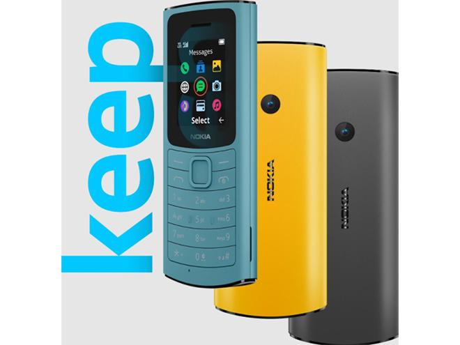 Ra mắt Nokia 110 và Nokia 105 4G, giá chưa tới 500 nghìn đồng - 1
