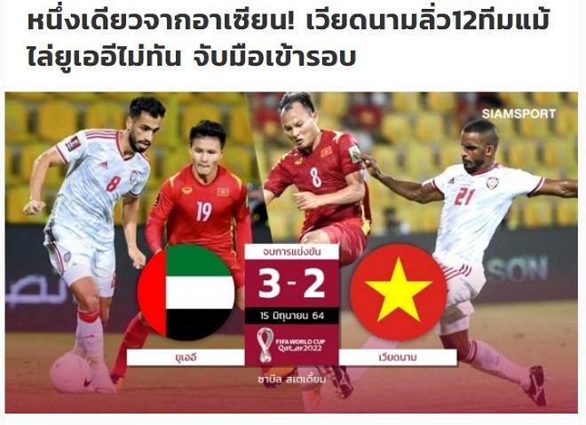 ĐT Việt Nam vào vòng loại thứ ba World Cup: Báo Thái ca ngợi số 1 Đông Nam Á - 3