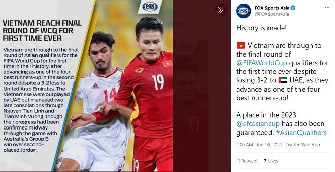 ĐT Việt Nam vào vòng loại thứ ba World Cup: Báo Thái ca ngợi số 1 Đông Nam Á - 1