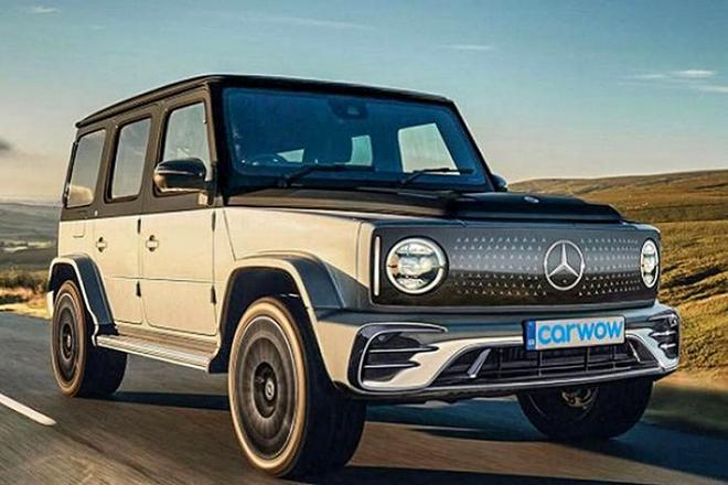 Bản sử dụng động cơ điện của Mercedes-AMG G63 sẽ ra sao khi ra mắt? - 1