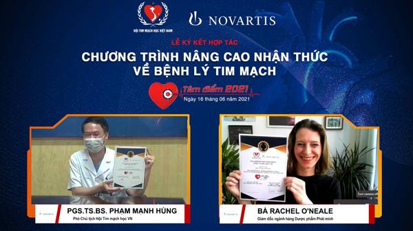 Hội Tim mạch học Việt Nam hợp tác với Novartis nhằm nâng cao nhận thức của chuyên gia y tế về bệnh lý Tim mạch - 1