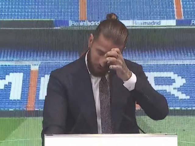 """Sergio Ramos khóc trong ngày chia tay, tố Real Madrid """"lật lọng"""" vụ hợp đồng - 1"""
