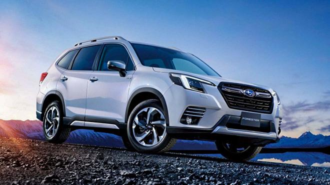 Subaru trình làng bản nâng cấp dòng xe Forester, sớm có mặt tại Việt Nam - 1