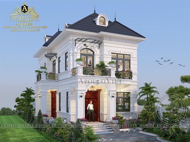 Top 5 mẫu nhà đẹp 2 tầng Tân cổ điển - Xu hướng mới 2021-2025 - 1