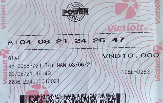 Tranh thủ mua vé số khi đi mua sắm tại Vinmart+ người chơi trúng Jackpot hơn 58 tỷ đồng - 1