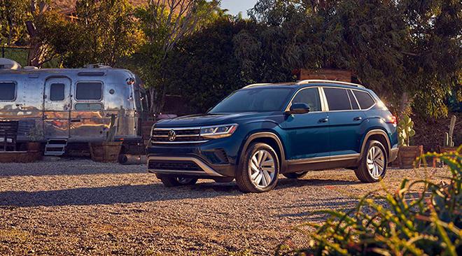 Điểm qua những mẫu SUV ăn khách của hãng xe Volkswagen - 1
