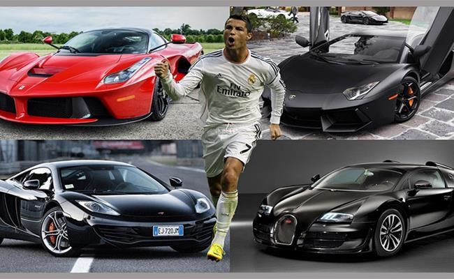 """Cầu thủ Cristiano Ronaldo - đội trưởng của đội tuyển Bồ Đào Nha là chủ nhân của bộ sưu tập siêu xe cực """"khủng""""."""