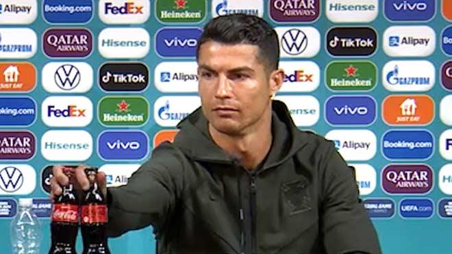 """Ronaldo dễ bị phạt vì hành động """"gây bão"""" EURO, Harry Kane quyết không học theo - 1"""