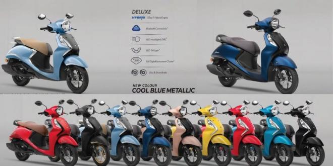 Xe ga 2021 Yamaha Fascino 125 Fi Hybrid trình diện, giá cực rẻ 22,6 triệu đồng - 1