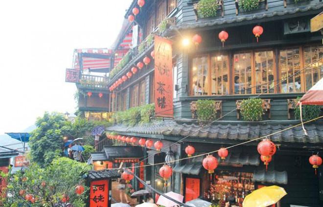 Cửu Phần - ngôi làng cổ lãng mạn ở Đài Loan - 1