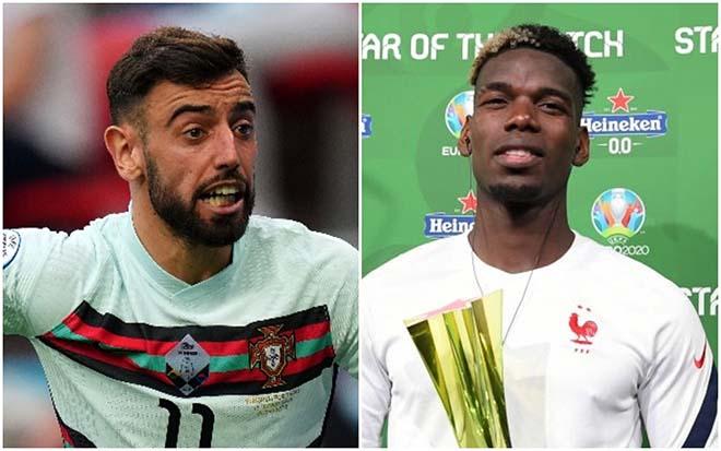 """Dàn sao MU """"tắt điện"""" ở EURO 2020: 9 người mờ nhạt, khác biệt Pogba - 1"""