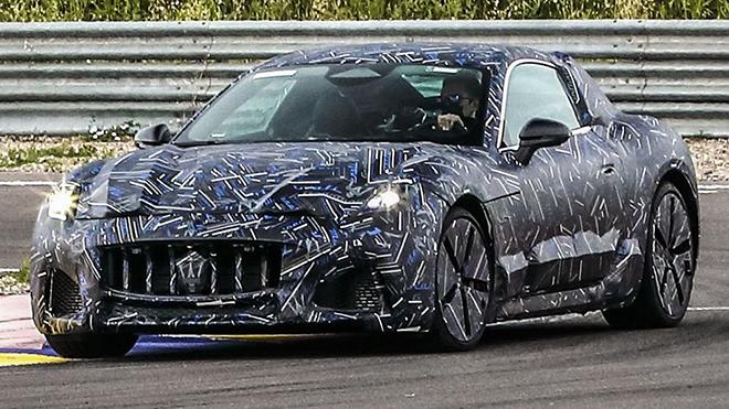 Maserati GranTurismo mới lộ ảnh trên đường thử - 1