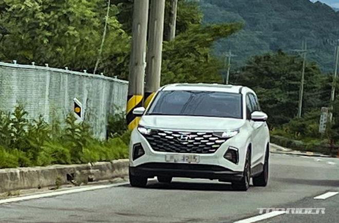 Xe MPV Hyundai Custo xuất hiện trên đường phố Hàn Quốc - 1