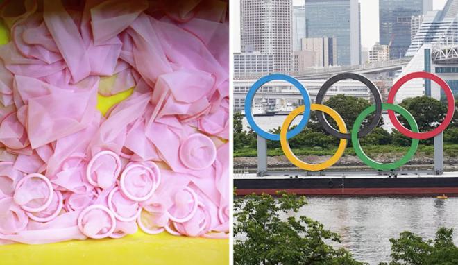 """""""Chuyện ấy"""" ở Olympic 2021 bị """"cấm"""", vậy phát 160.000 bao cao su làm gì? - 1"""