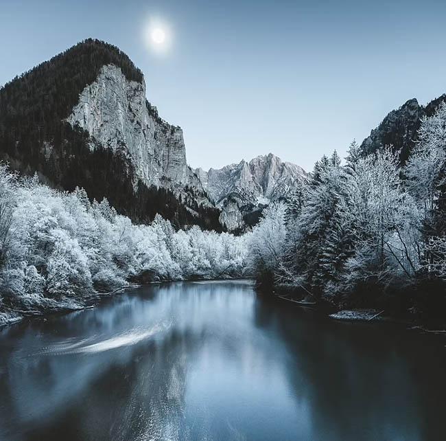 7. Gabor đã chụp lại cảnh tượng thanh bình này trong vườn quốc gia Gesause của Áo, rộng 12.000 ha ở bang miền núi Styria.