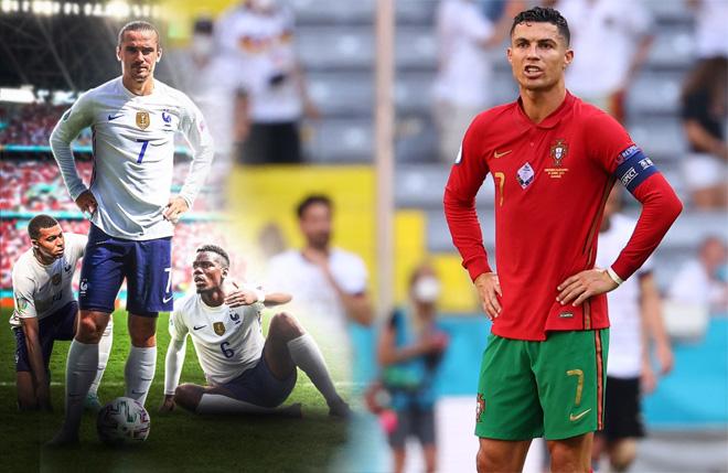 """BĐN đại chiến Pháp ở EURO, Ronaldo nhắm 2 siêu kỷ lục vẫn lo dớp """"tịt ngòi"""" - 1"""