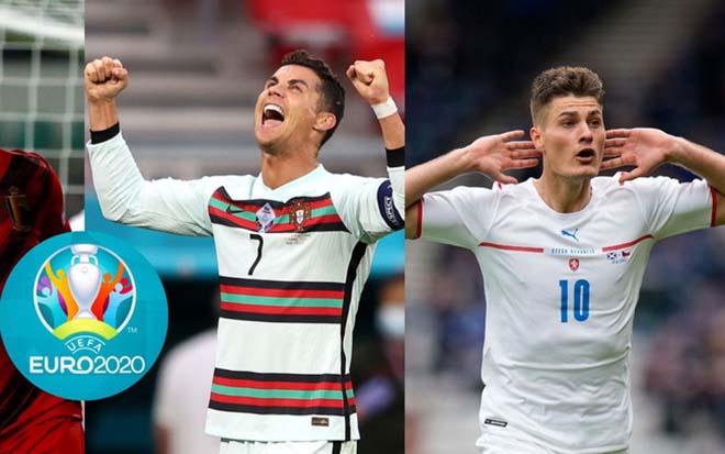 """Đua """"Vua phá lưới"""" EURO 2020: Ronaldo và Patrik Schick so kè, dấu ấn Serie A - 1"""