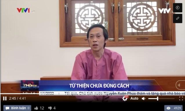 Hoài Linh, Thủy Tiên lên sóng Thời sự VTV vì ồn ào tiền từ thiện - 1