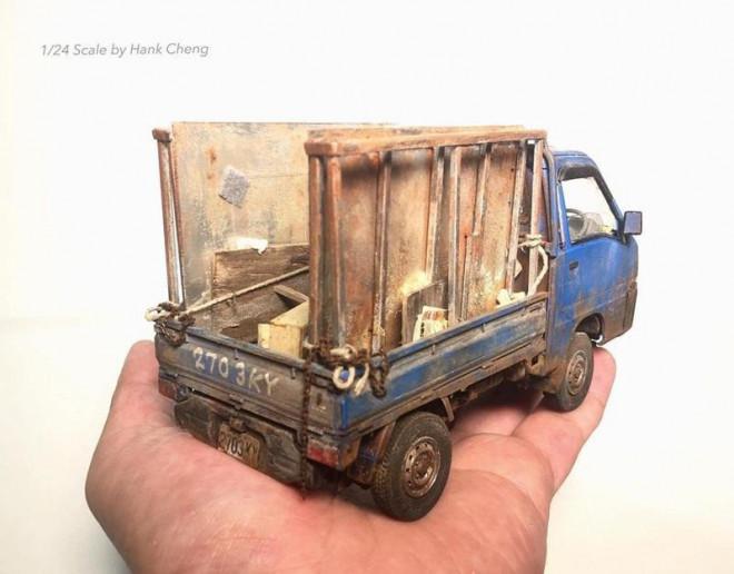 Lạc vào thế giới thu nhỏ của Hank Cheng, đến bồn cầu cũng có phiên bản tí hon - 1