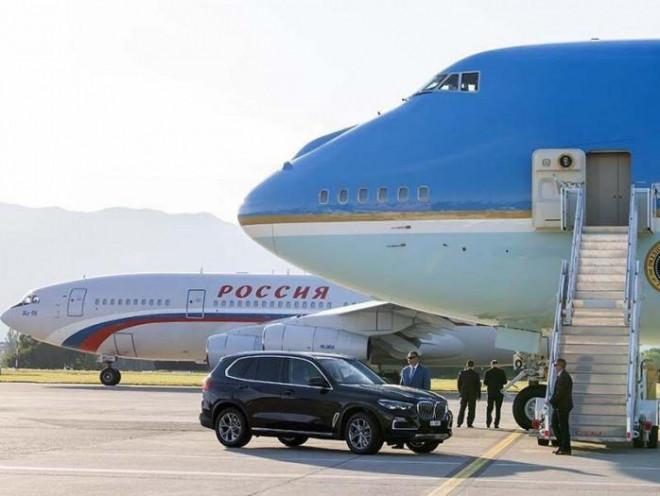 """Báo Đức so sánh """"Điện Kremlin bay"""" và """"Không lực Một"""" của Putin và Biden - 1"""